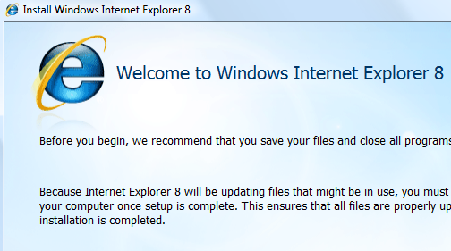 Internet Explorer 8 Available for Download