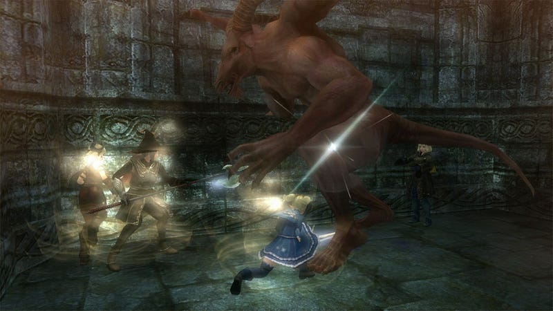 Permadeath and Other Players Make Wizardry Online One Hardcore MMO