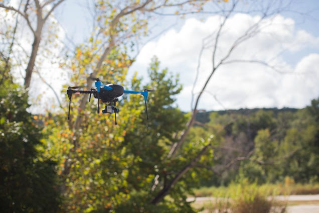 New Autonomous 3D Robotics Drone Follows You Wherever You Go