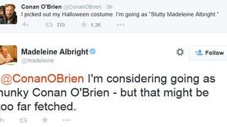 Conan O'Brien vs. Madeleine Albright: FIGHT!