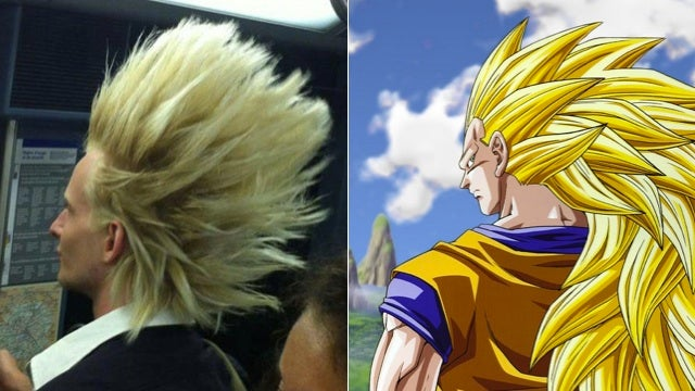 Dragonball Hair Is Even More Amazing in Real-Life