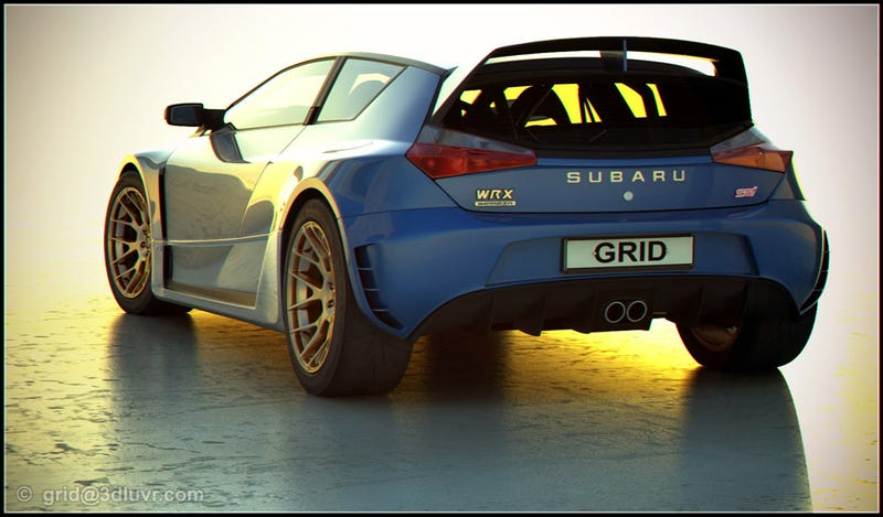 Independent Subaru WRX STI Concept Looks Fast, Stylish