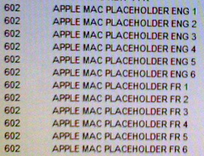 Six Mac Placeholder SKUs Appear in Future Shop's Inventory System