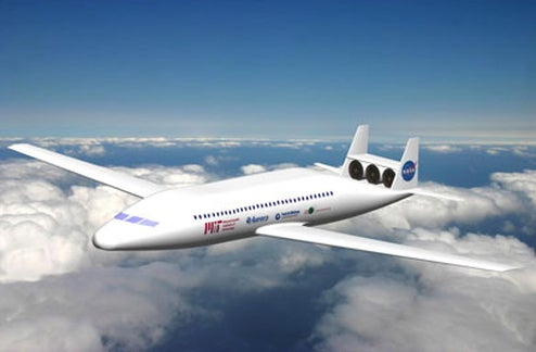 MIT Team Tapped to Design the Airliners of 2030