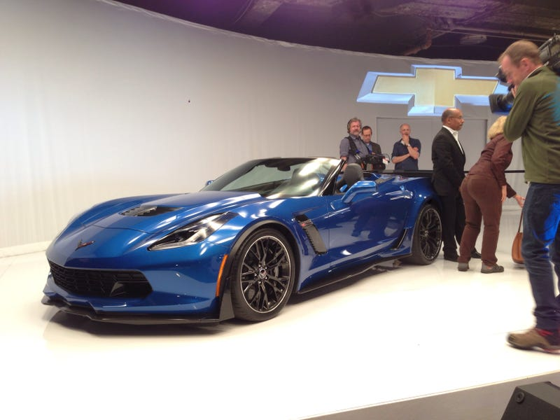 2015 Chevrolet Corvette Z06 Convertible: All The Speed, No Penalties