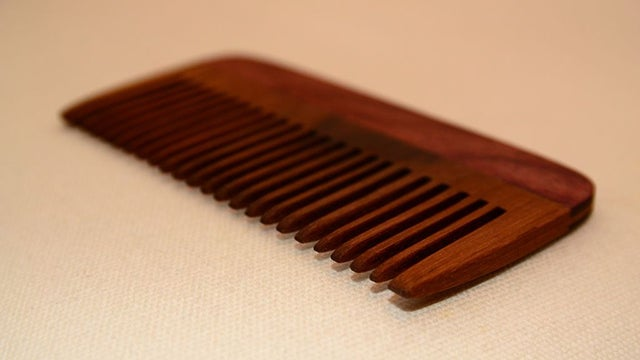 Use a Wooden Comb for Healthier, Static-Free Hair