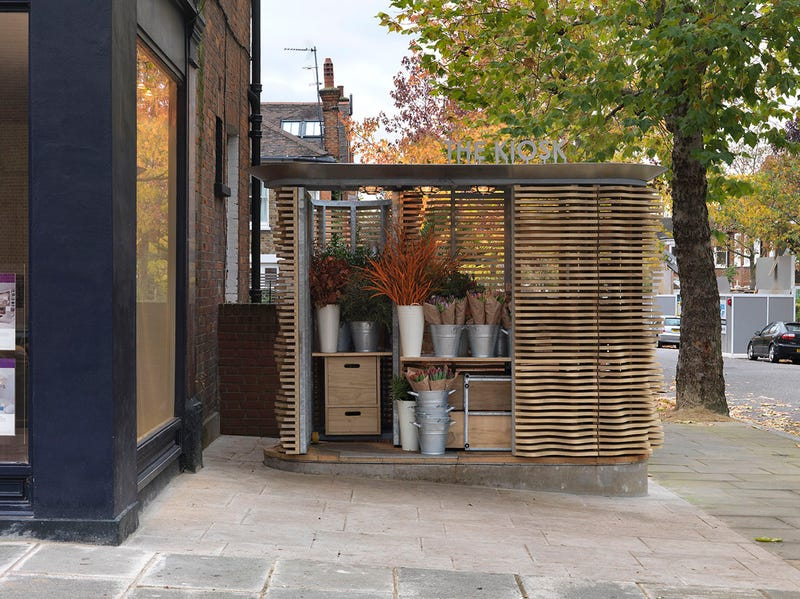 Tiny New Building Inspired By The Textures Of Flowers