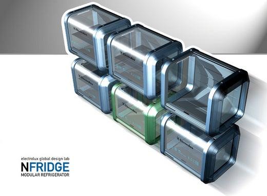 Electrolux nFridge Modular Concept