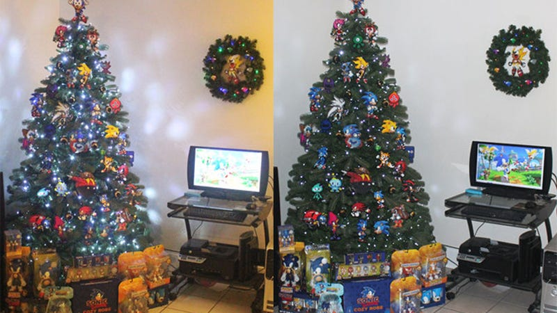 The Bittersweet Triumph of the Sonic the Hedgehog Christmas Tree