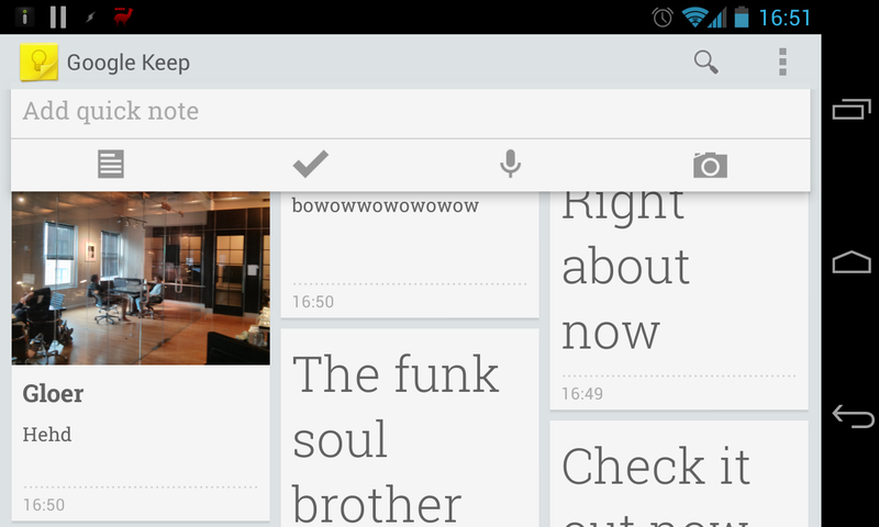 Google's Note-Taking Service Keep Is Live, And It's Wonderful