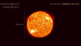 Recorre el Universo a la velocidad de la luz con este vídeo
