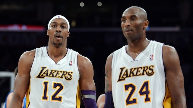 Kobe Bryant Is Already Drawing A Line Between Real Lakers And Dwight Howard
