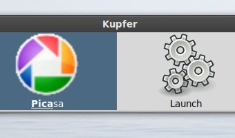 Kupfer Launches Linux Files and Applications Quickly