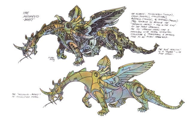 The Most Beautiful Transformers Concept Art You'll Ever See