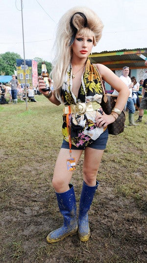 Mud: Glastonbury's Great Equilizer