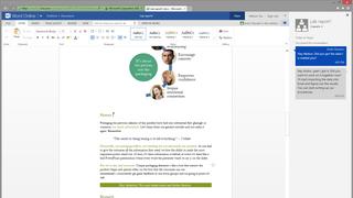 Microsoft añade chat a las versiones online de Word y Powerpoint