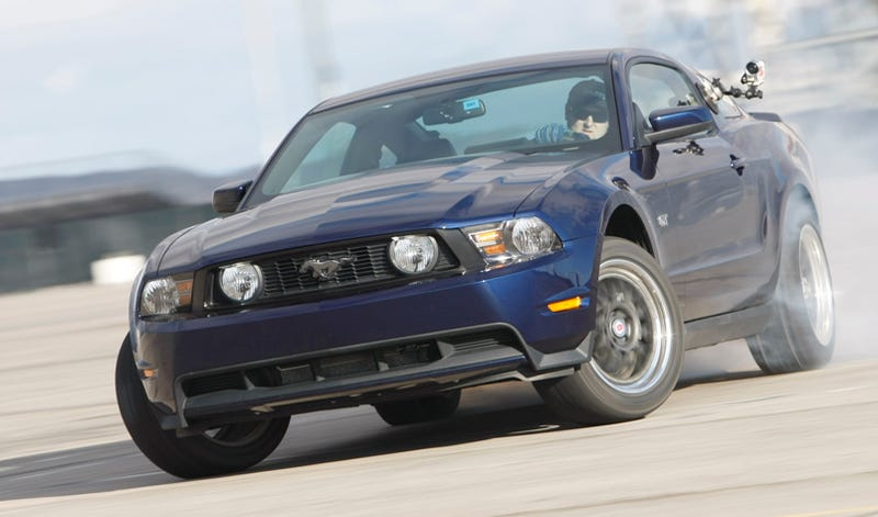 2010 Ford Mustang GT Sets Unofficial World Drift Record At 6285 Ft.
