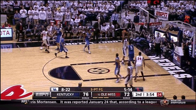 How Nerlens Noel Won The Kentucky-Ole Miss Game With Two Fearless Blocks