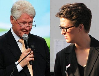 Bill Clinton Pissed About Something Rachel Maddow Said Months Ago