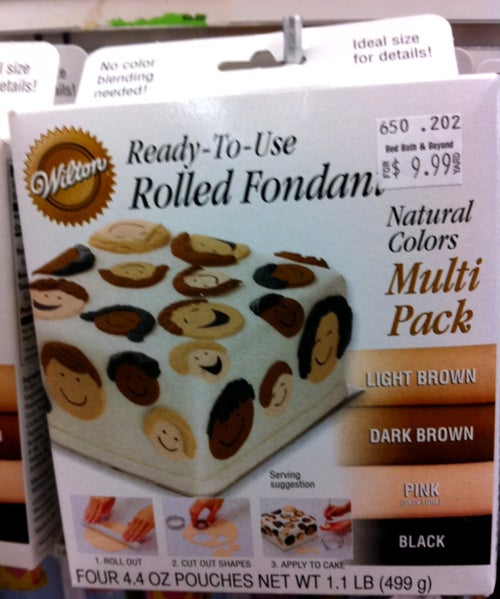 Oddly Racist Fondant Pack Will Make Your Cake Unforgettable!