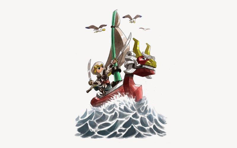 Wind Waker Link Joins The Assassin's Creed Universe
