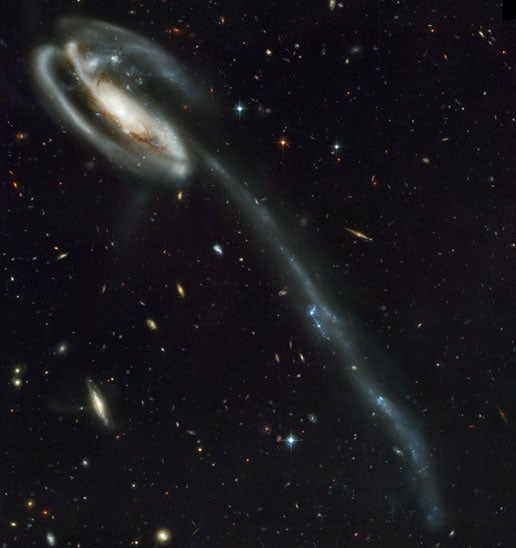 distance from galaxies to each other - photo #13