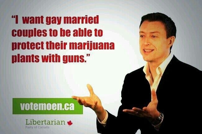 Canada Man Campaigns to Put Lethal Weapons in the Hands of Stoners