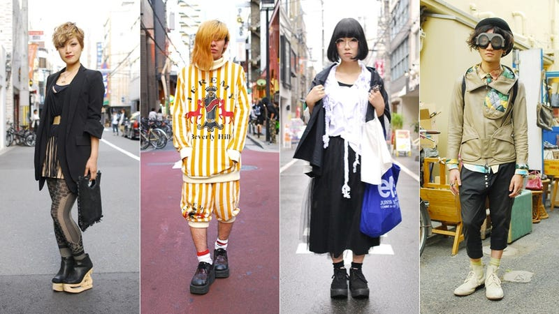 The Best-Looking Characters Walk the Streets of Japan