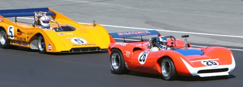 Monterey Historics Can-Am Action Gallery