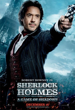 Sherlock Holmes: A Game of Shadows Character Posters