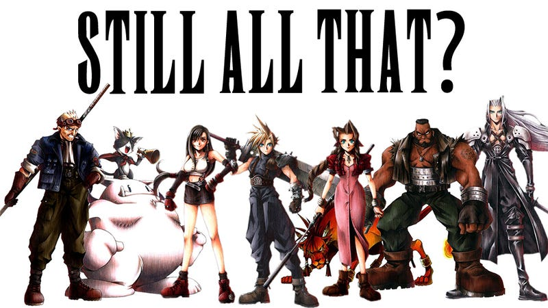 I love Final Fantasy VII: Now Watch Me Pretend I Hate It.