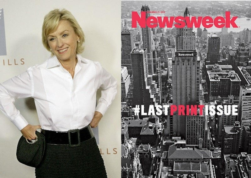 Tina Brown Ran Out of Ideas for the Last Newsweek Cover Ever