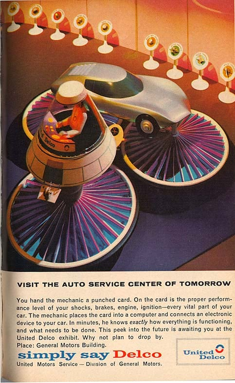 Fancypants Garage of the Future Runs on IBM Cards, 1964