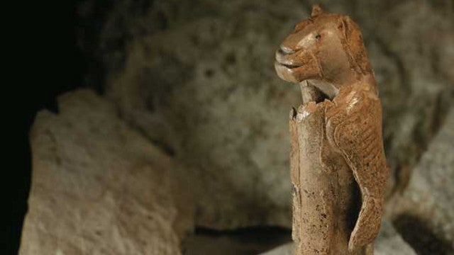 A 40,000 year-old sculpture made entirely from mammoth ivory