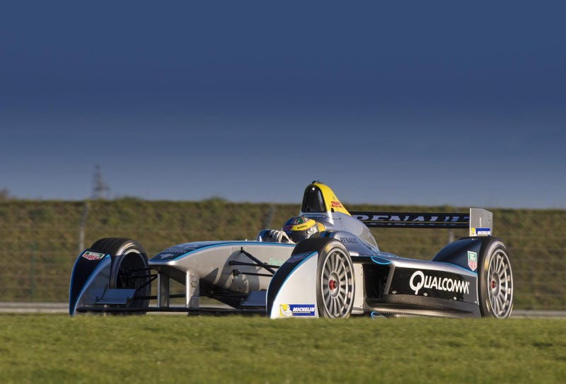 Formula E Car Completes Successful Test Debut