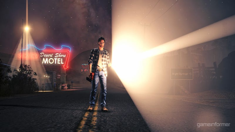 Our First Look at the New Alan Wake