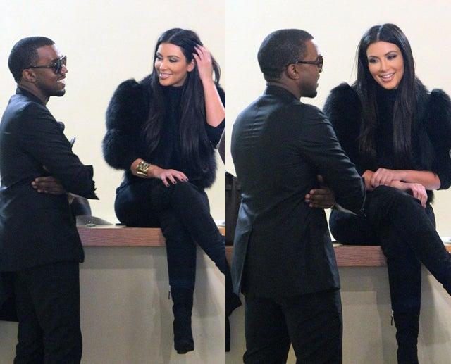 Kim & Kanye Make A Sexy Video