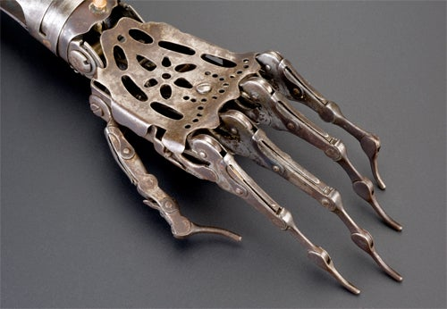 Victorian Prosthetic Arm—No, No, No, No, No