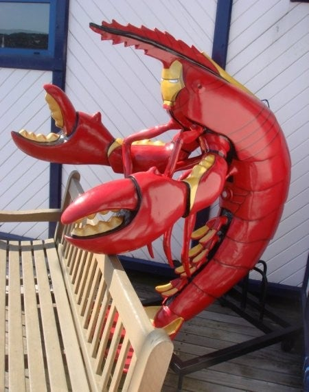 What If Iron Man Was A Giant Lobster?