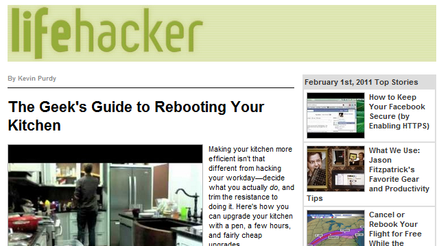 lifehacker daily picture and images