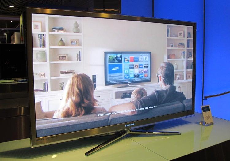 Samsung's Monster 65-Inch 3D LED LCD TV: The Biggest, Baddest Yet