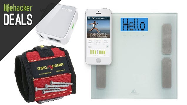Tablets For Cheap, $20 Travel Router, Smart Scale, Magnetic Wristband