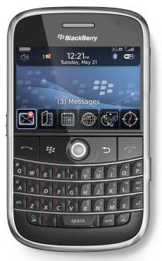 BlackBerry Bold (aka 9000) Will Sync to iTunes