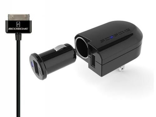 Scosche PowerFuze Pro Charges Your USB Devices On the Wall and In The Car