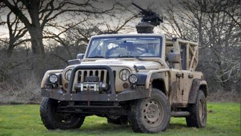 This Modified Jeep Is Ready For Combat