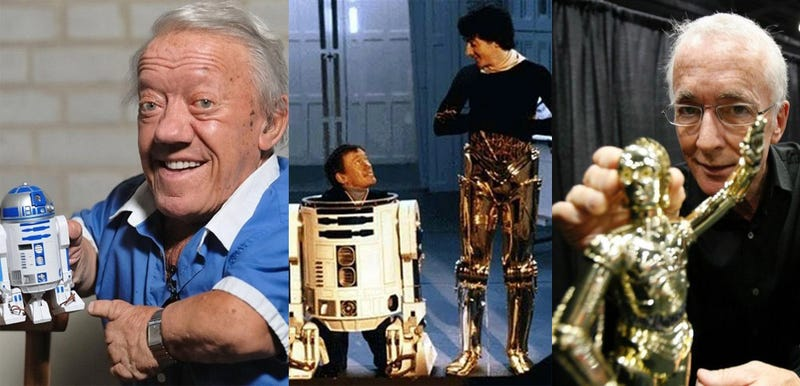 The Men Inside of R2-D2 and C-3PO Actually Hated Each Other