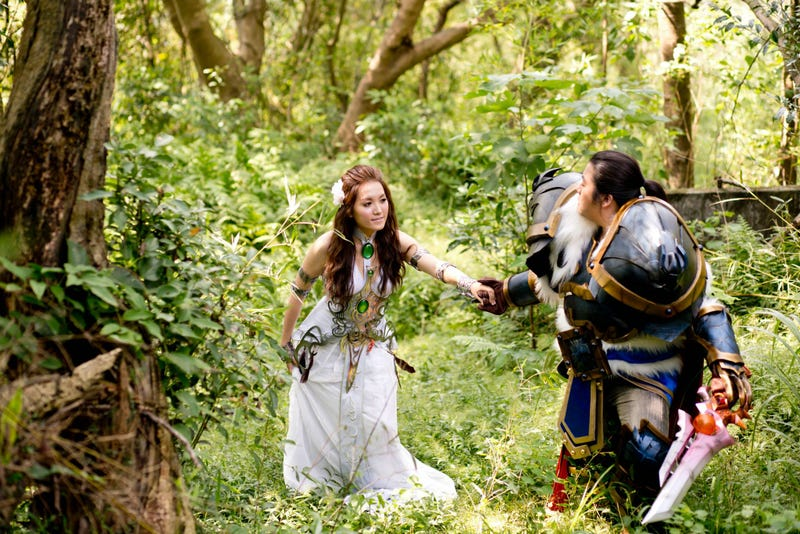 Ain't No Wedding Like An Incredible World Of Warcraft Cosplay Wedding