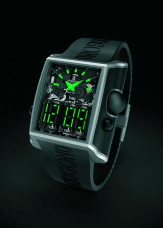 """First Watch with All-Mechanical """"Digital"""" Display (Verdict: Absolutely Amazing)"""