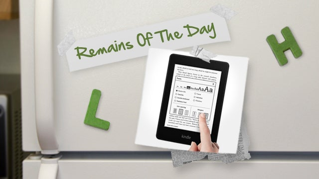Remains of the Day: Amazon Sells Out of the Kindle Paperwhite, New Orders Delayed