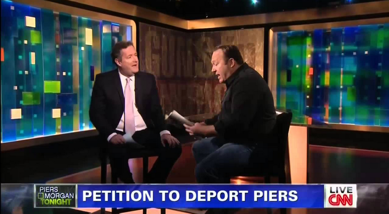 Piers Morgan Signs Off, Has Last Word About Guns